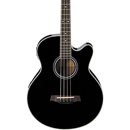 Ibanez AEB5EBK Acoustic Electric Bass Guitar, Black by Ibanez