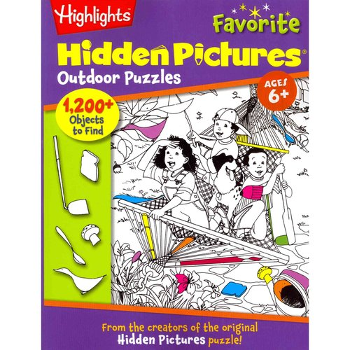 Highlights Hidden Pictures Favorite Outdoor Puzzles: Ages 6
