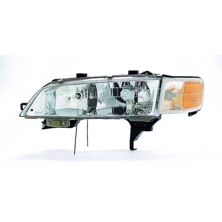 Honda Accord Headlight Assembly - 1994-1997 Honda Accord::Sedan  Aftermarket Driver Side Front Head Lamp Assembly 33150SV4A02-V