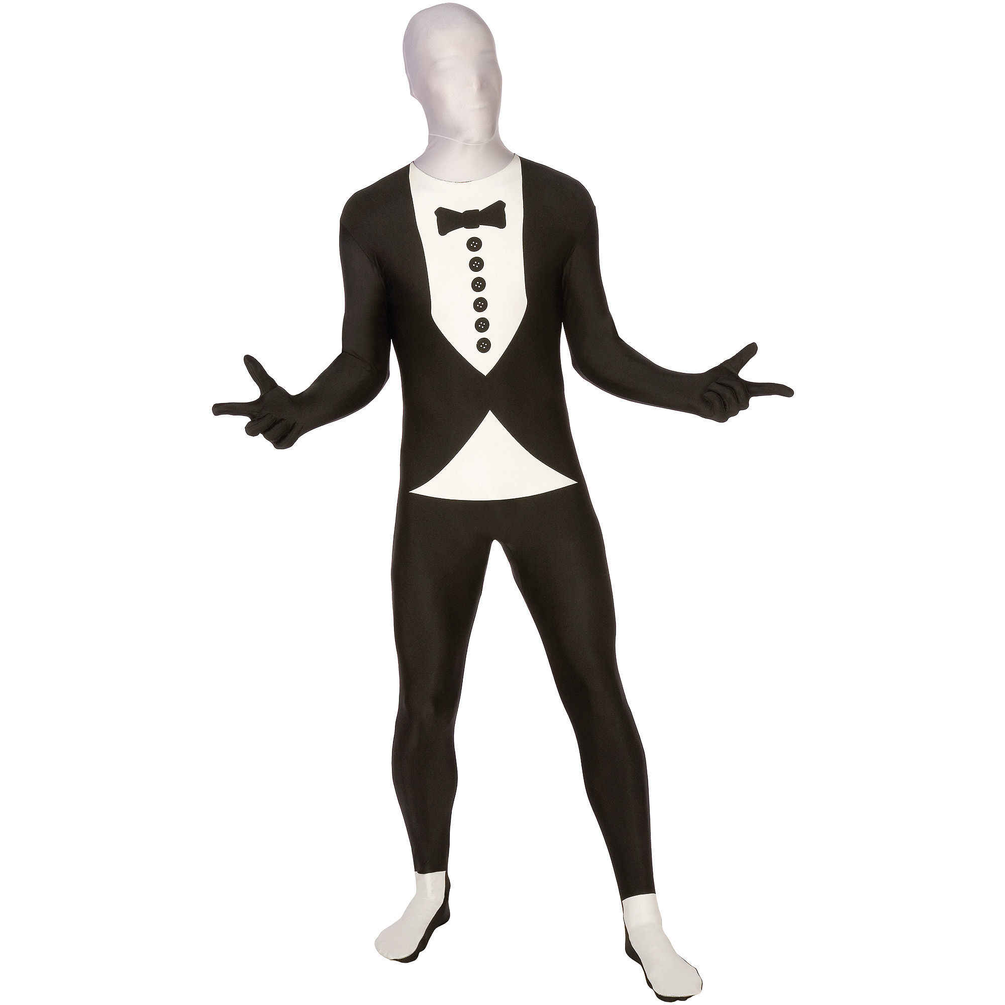 Men Tuxedo Bodysuit Medium Halloween Dress Up / Role Play Costume - Walmart.com  sc 1 st  Walmart & Men Tuxedo Bodysuit Medium Halloween Dress Up / Role Play Costume ...