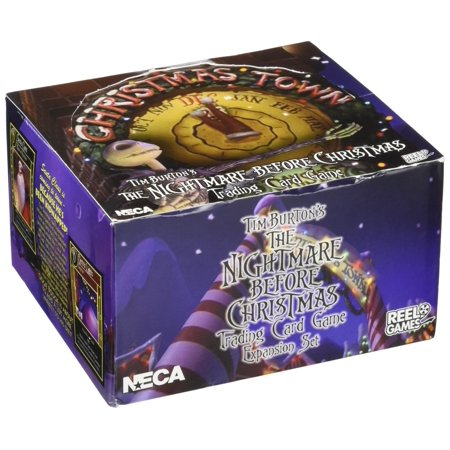 Neca Nightmare Before Christmas Christmas Town NBX Booster Box](Nightmare Before Christmas Party Game)