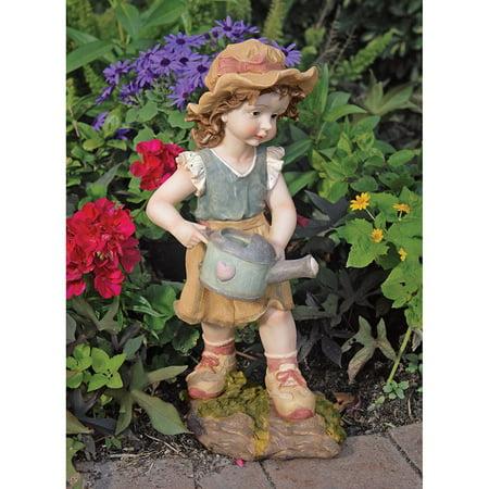 Design Toscano Farmer Fanny Garden Statue