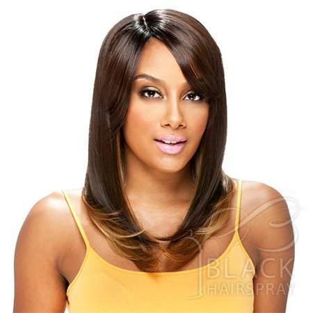 LATTE (#OM8642P) - Model Model Deep Invisible Part Synthetic Hair Wig ()