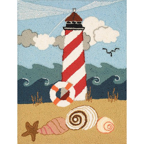 "Heritage Rug Hooking Kit, 20"" x 27"", Lighthouse"