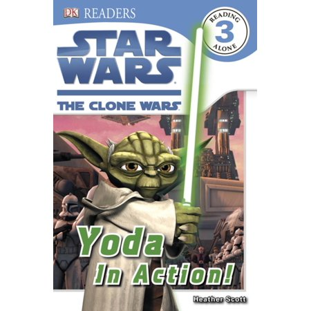 DK Readers L3: Star Wars: The Clone Wars: Yoda in Action! - eBook