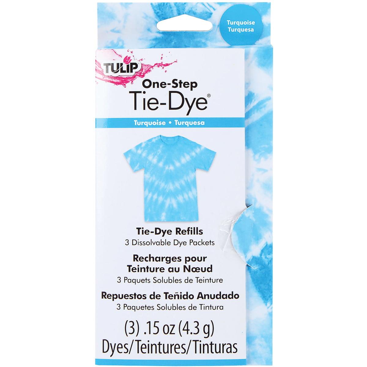0fc354f34e7c Tulip One Tie Dye Refill 13oz 3 Pkg Turquoise. Tulip Sup Tie Dye Paint  Refills