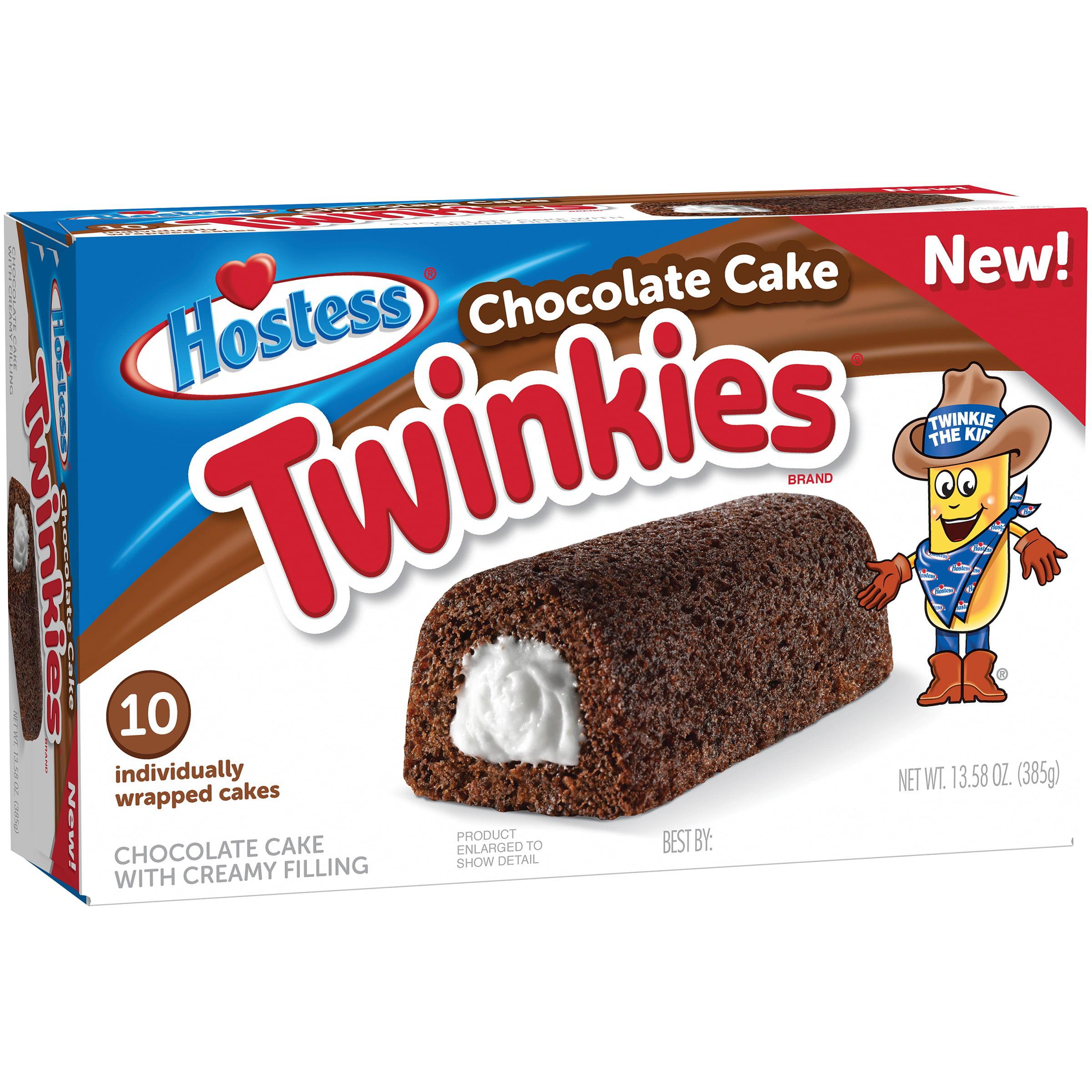 Hostess Chocolate Cake Twinkies, 10 ct, 13.58 oz
