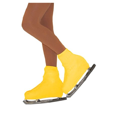 Chloe Noel Girls One Size Yellow Boot Cover Figure Skating Accessory - Girls Figure Skate Boots