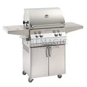 A430s5AAP62 Analog Style Stand Alone Grill - Liquid Propane