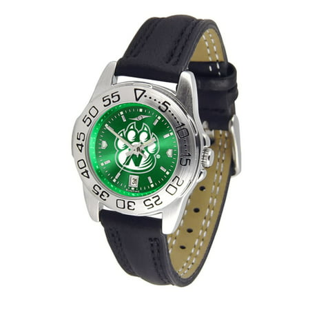 Northwest Missouri State Bearcats NCAA AnoChrome Sport Ladies Watch (Leather Band)