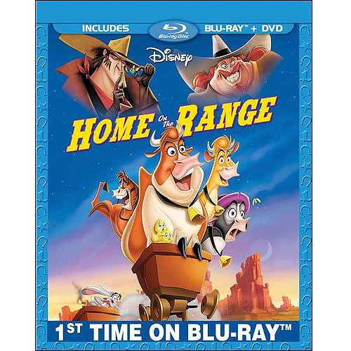 Home On The Range (Blu-ray + DVD) (Widescreen)