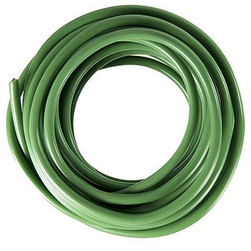 JT&T Products 145F 14 AWG Green Primary Wire, 15' Cut
