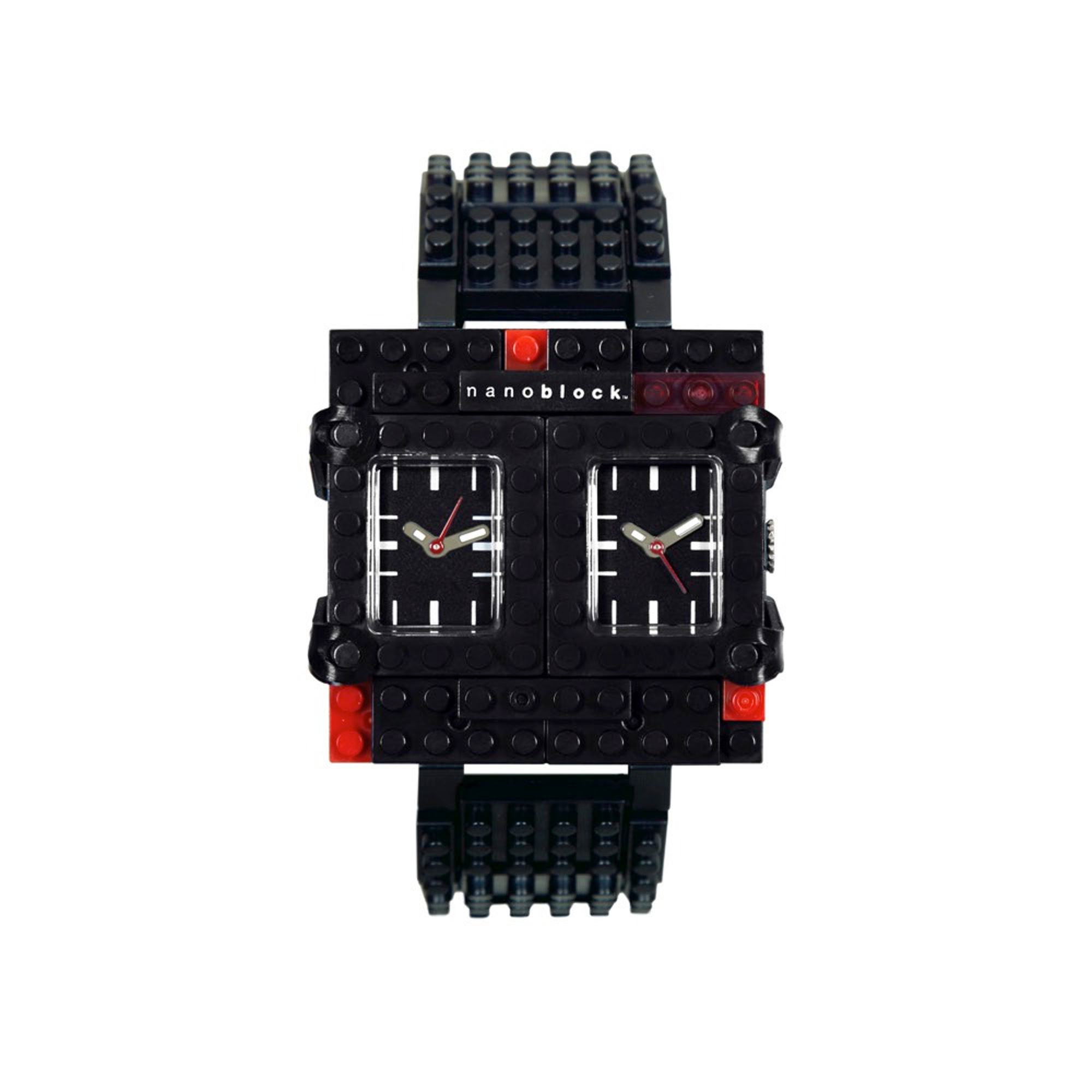 Nanoblocktime Traveler Watch, Black by Beta Enteprises Inc.