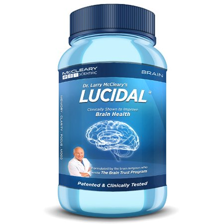Lucidal Increase memory, Mood, Focus, Concentration, and Mental Energy
