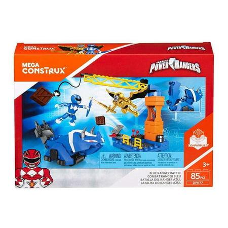 Mega Construx Power Rangers Blue Ranger Battle