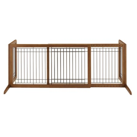 Richell Freestanding Large Pet Gate, - Richell One Touch Gate