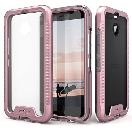 HTC Bolt Case, Zizo [ION Series] with FREE [HTC Bolt Screen Protector] Crystal Clear [Military Grade] for HTC Bolt / HTC 10 EVO