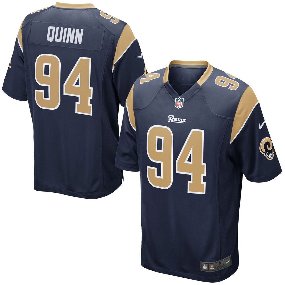 Nike Robert Quinn Los Angeles Rams FC ENERGY Game Jersey Navy - Walmart.com fc399dc530c7