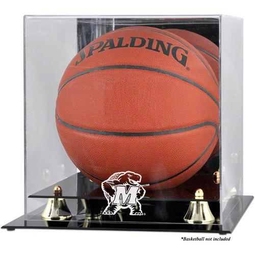 NCAA - Maryland Terrapins Golden Classic Logo Basketball Display Case