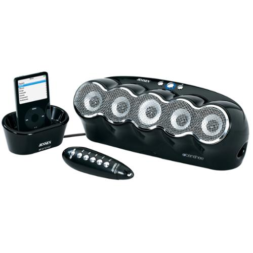 JENSEN JISS-550-BK iPod(R) Docking Speaker Station
