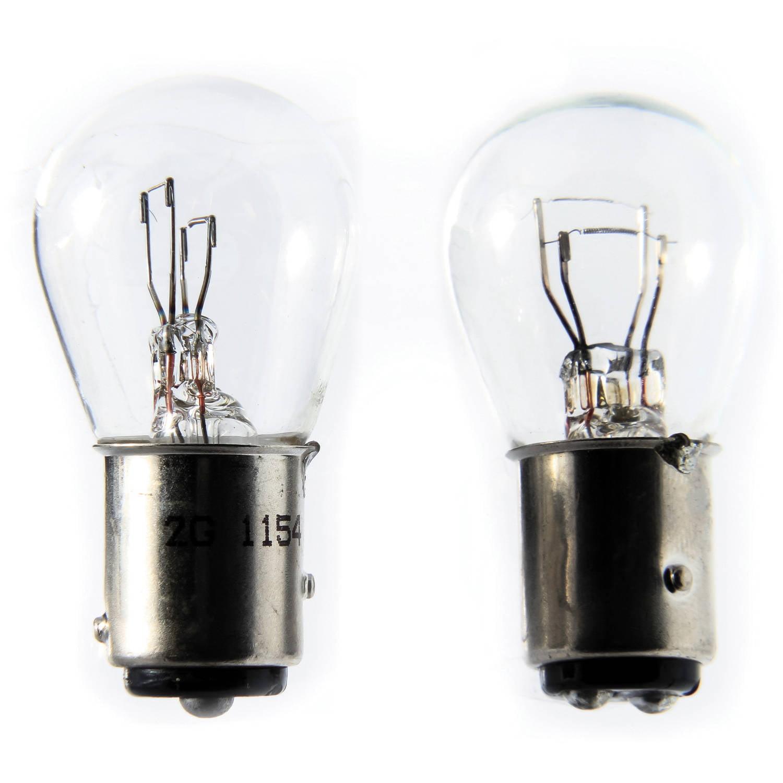 Camco 54799 6V Auto Park/Tail/Signal 1154 Bulb, 2-Pack