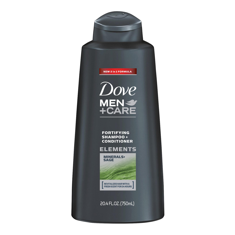 Dove Men+Care 2 in 1 Shampoo and Conditioner Minerals + Sage 20.4 oz