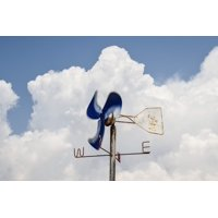 Canvas Print Wind Gauge Speed Equipment Wind Weather Anemometer Stretched Canvas 10 x 14