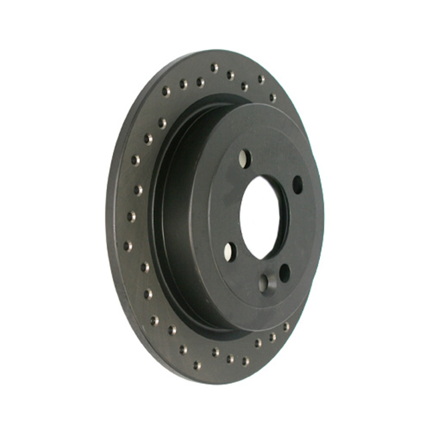 StopTech 128.34066L StopTech Sport Rotors; Drilled; Rear Left;10.20 in. Dia.; 1.73 in. Height;