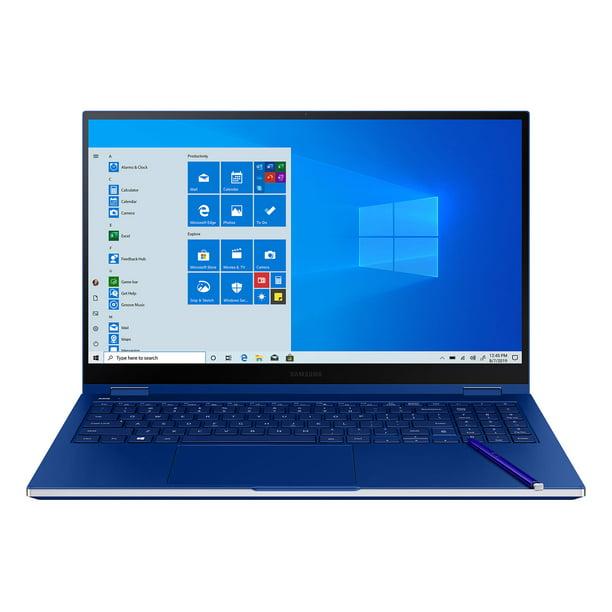 """Samsung Galaxy 13.3"""" Book Flex 512GB Storage Laptop, Royal Blue"""