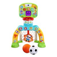 VTech Count and Win Sports Center Toddler Basketball and Soccer Smart Toy