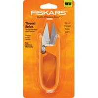 Fiskars Premier Thread Snips Sewing Scissors Orange