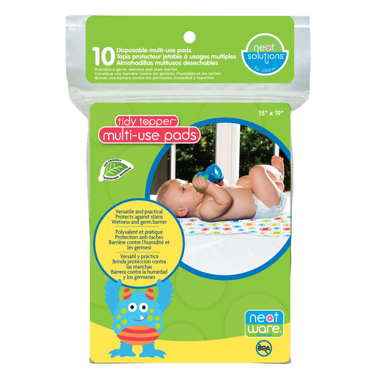 Neat Solutions Neatware Multi-Use Pads, 10 Ct
