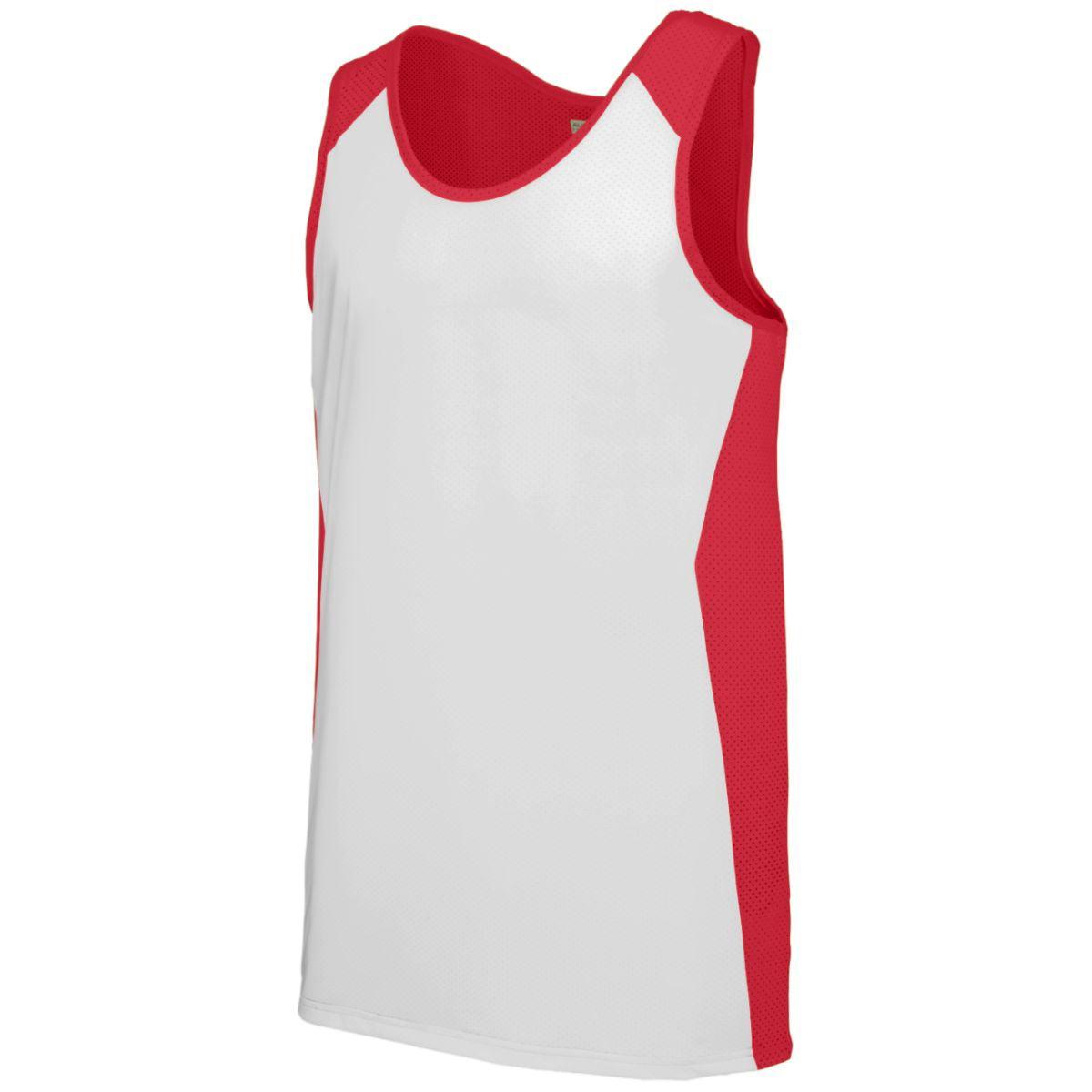 Augusta Sportswear Men's Alize Jersey 2Xl Red/White - image 1 de 1