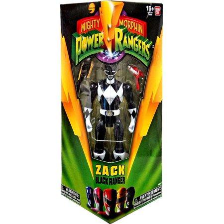 Power Rangers Black Ranger (Mighty Morphin Power Rangers Zack Black Ranger Action)