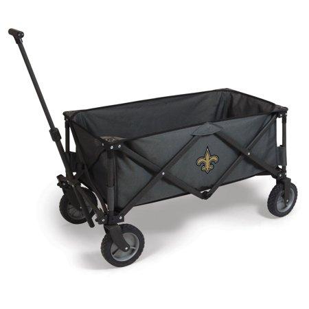 Picnic Time NFL Adventure Wagon - Dark Gray/Black