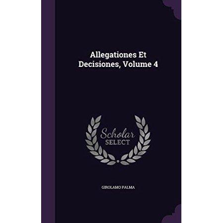 Allegationes Et Decisiones, Volume 4 - image 1 de 1
