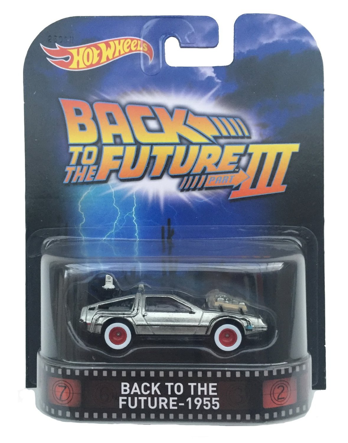 Hot Wheels 1:64 Scale Retro Entertainment Back to the Future III 1955 by Hot Wheels