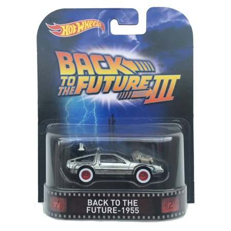 Hot Wheels 1:64 Scale Retro Entertainment Back to the Future III (Figure Hot Wheels)