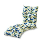Marlow Floral 72 x 22 in. Outdoor Chaise Lounge Cushion