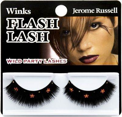Jerome Russell Winks Flash Lash Wild Party Lashes Flash Lash Daisies Red