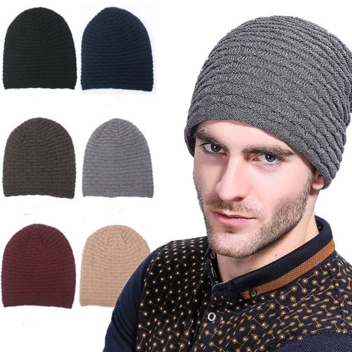 Horse Animal Warm Winter Hat Knit Beanie Skull Cap Cuff Beanie Hat Winter Hats for Men /& Women