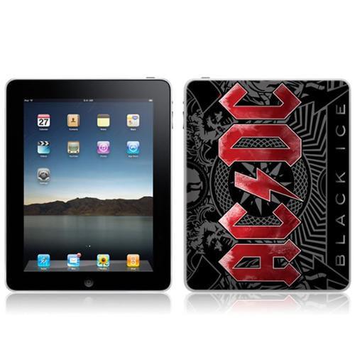 Zing Revolution MS-ACDC30051 iPad- Wi-Fi-Wi-Fi + 3G- AC-DC- Black Ice Skin