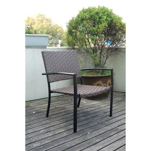 Mainstays Ms Stack Over-sized Wicker Chair