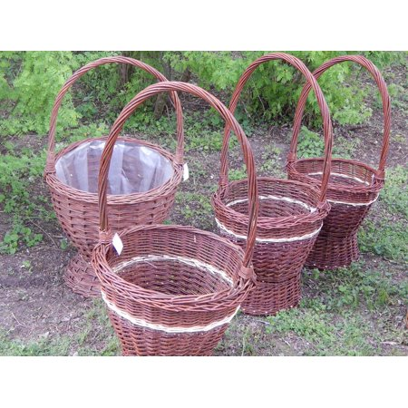 LAMINATED POSTER Baskets Wicker Baskets Basket Poster Print 24 x 36