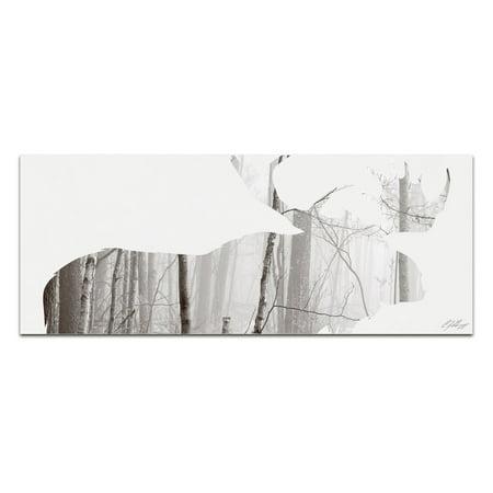 Moose Outdoor Wall - Metal Art Studio Moose Landscape Wall Art