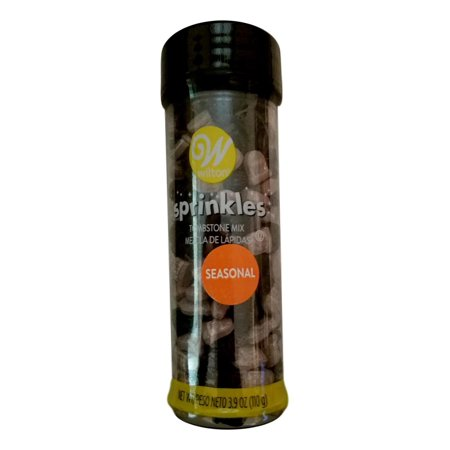 Tombstones Sprinkles Mix Decorations 3.9 oz Wilton Halloween - Villains Halloween Party Mix