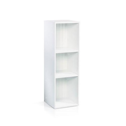 Closits Single 2-Shelf Storage in White