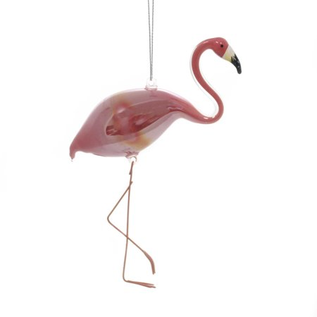 Holiday Ornaments IRIDESCENT FLAMINGO Glass Ocean Whimsical 2020180308](Flamingo Ornaments)