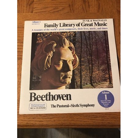 Beethoven - Family Library of Great Music - Album 1 - LP Record - 1970 Greats Cd Album
