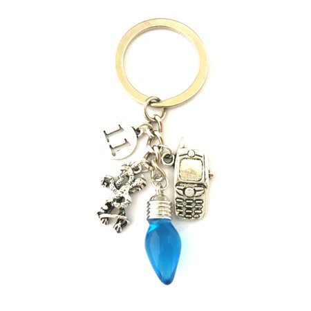 Stranger Things Keychain Key Ring TV Show Series Novelty Auto Boat House